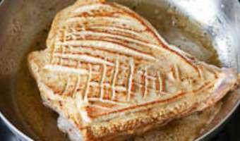 Tendrons de veau laqués à la plancha - Etape 2