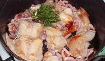 Lapin au vinaigre et aux airelles - Etape 3