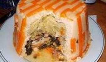 Chartreuse de poule faisane : la cuisson - Etape 7