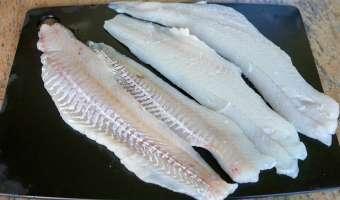 Terrine de poisson - Etape 1