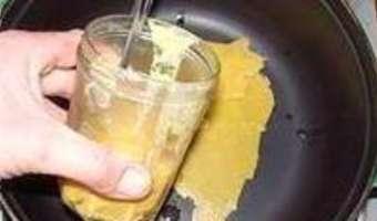 Gratin de pommes de terre à l'ancienne - Etape 1