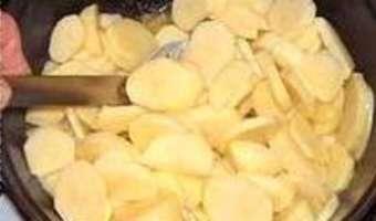 Gratin de pommes de terre à l'ancienne - Etape 3