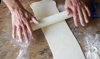 Allumettes aux anchois - Etape 1