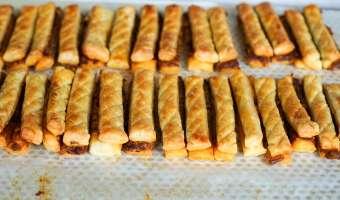Allumettes aux anchois - Etape 15