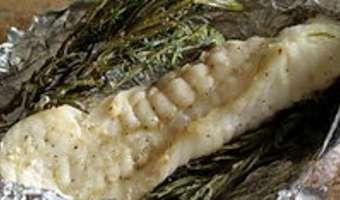 Filets de lotte rôtis aux herbes - Etape 7