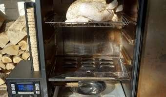 Le poulet fumé - Etape 6