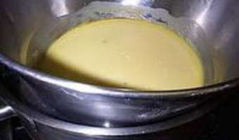 Crème chiboust - Etape 4
