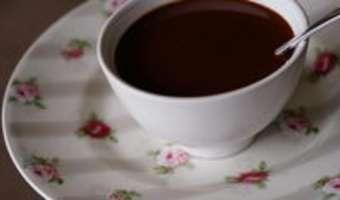 Sauce chocolat légère - Etape 6