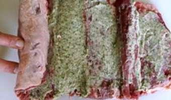 Selle d'agneau farcie - Etape 5