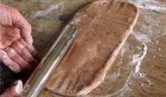 Feuilletage au chocolat : le tourage - Etape 7