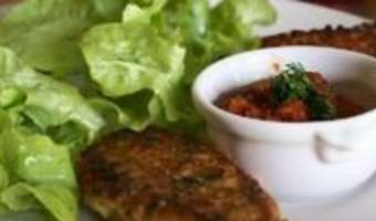 Beignets de pain au poivrons - Etape 8