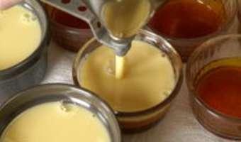 Crème renversée au caramel - Etape 10
