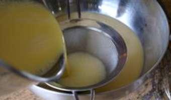 Crème renversée au caramel - Etape 7