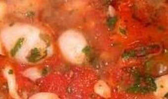 Encornets au chorizo - Etape 6