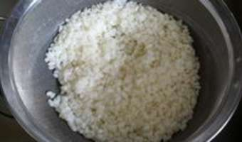 Gâteaux de riz de Marguerite - Etape 3