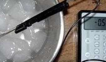 Produire du froid négatif sans appareillage - Etape 2
