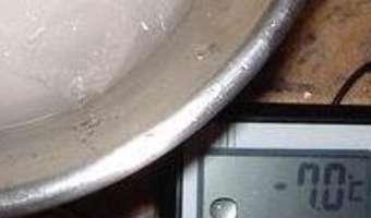 Produire du froid négatif sans appareillage - Etape 8