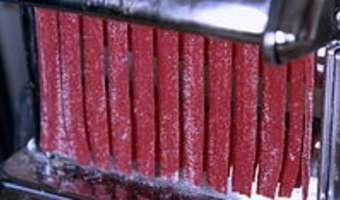 Pâtes fraîches colorées - Etape 10