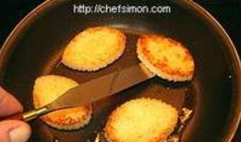 Filets de rougets sur canapés - Etape 5