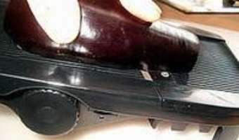 Tranches d'aubergines séchées - Etape 1