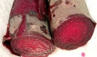 Cuire la betterave rouge - Etape 7