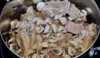 Blanquette de veau - Etape 10