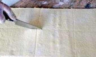 Croissants et pains au chocolat - Découpe et cuisson - Etape 2