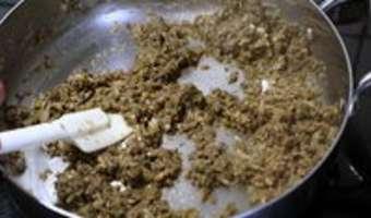 Duxelles de champignons - Etape 11