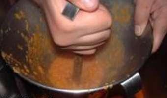 Soupe de poisson et sa rouille classique - Etape 8