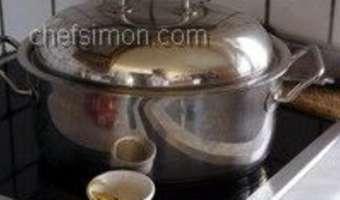 Curry d'agneau - Etape 7
