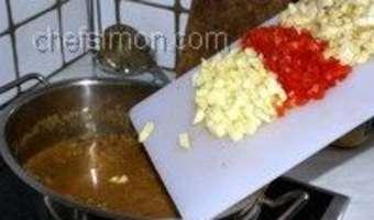 Curry d'agneau - Etape 11