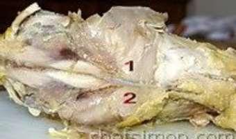 Découper une volaille rôtie - Etape 10