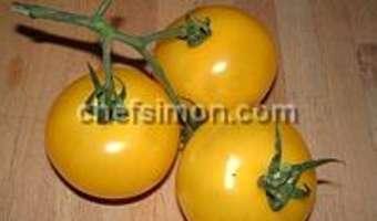 Gaspacho tomates concombre et basilic - Etape 1