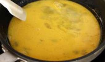 Oeufs brouillés à la truffe - Etape 6