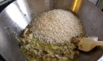 Risotto aux champignons - Etape 6