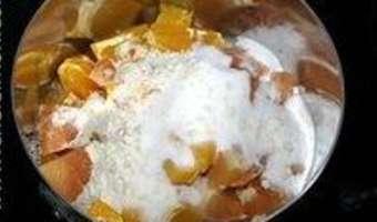 Sorbet pamplemousse orange - Etape 4