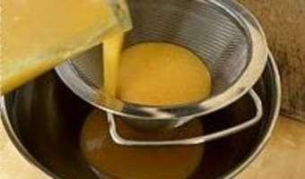Sorbet pamplemousse orange - Etape 8