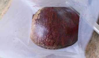 Betteraves rouges cuites sous-vide - Etape 2
