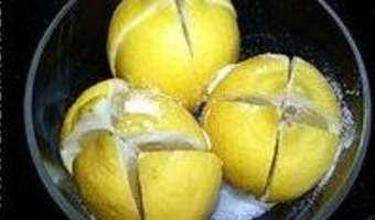 Citrons confits à l'huile d'olive - Etape 4