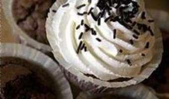 Cupcakes chocolat noir - Etape 10