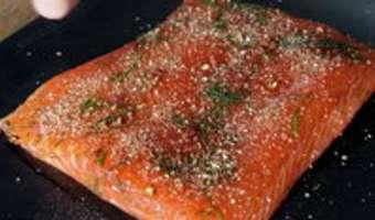 Gravlax de saumon - Etape 11