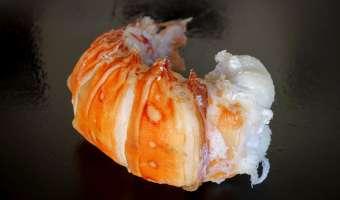 Médaillons de langouste et linguine au sabayon - Etape 3