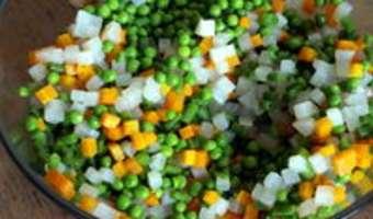 Macédoine de légumes - Etape 8