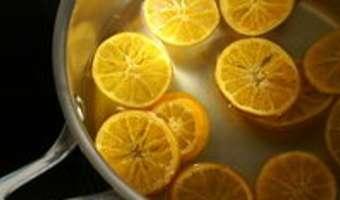 Oranges et citrons confits - Etape 4