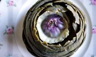 Artichaut à la vinaigrette - Etape 11
