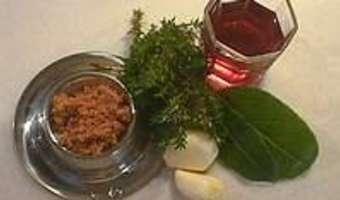 Compote d'oignons rouges - Etape 1