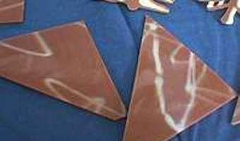 Bûche de Noel au chocolat : former la bûche - Etape 12