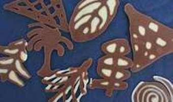 Décors en chocolat - Etape 12