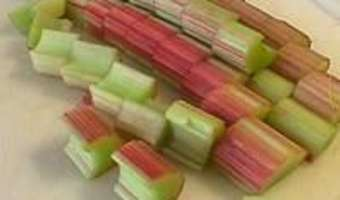 Compote de rhubarbe - Etape 5