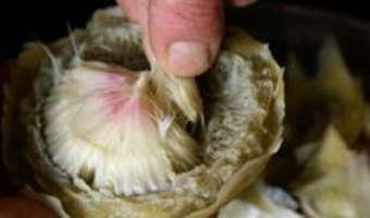 Cuire et parer un fond d'artichaut - Etape 6